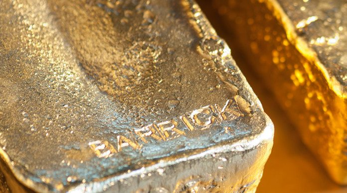 Barrick Gold Corporation (ABX) stock is 1.46% up to 200-SMA